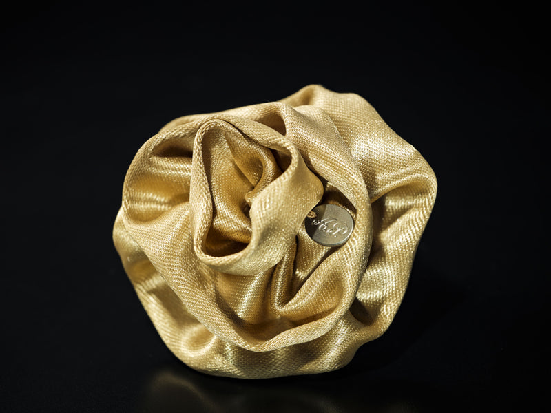 MyB Satin Flower Gold