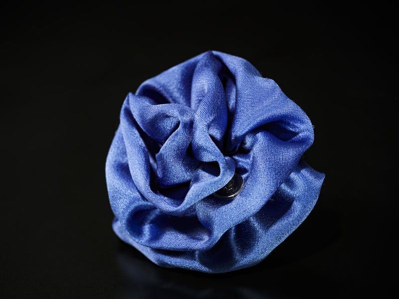 MyB Silk Flower Matt Periwinkle Blue