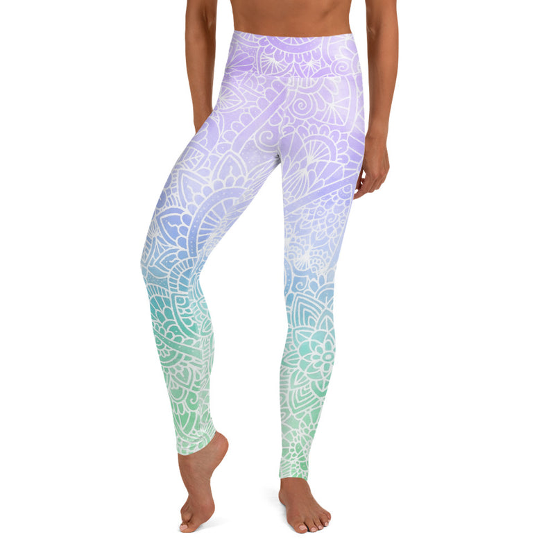 Galaxia Ombré Women's Yoga Leggings