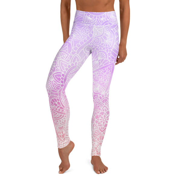 Mystic Ombré Women's Yoga Leggings