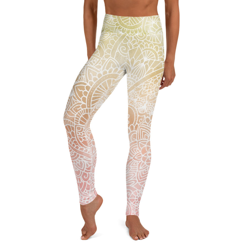 Sunrise Ombré Women's Yoga Legging