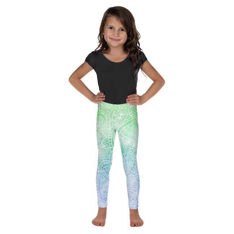 Aurora Ombré Kid/Toddler's Leggings
