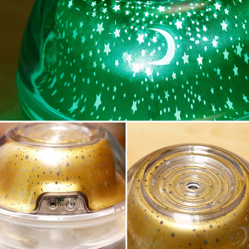 Crystal Night Light Projection Ultrasonic Diffuser/Humidifier
