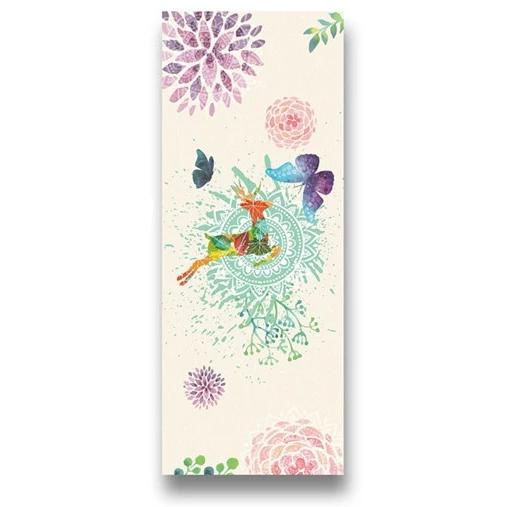 Animal Floral Yoga Towel