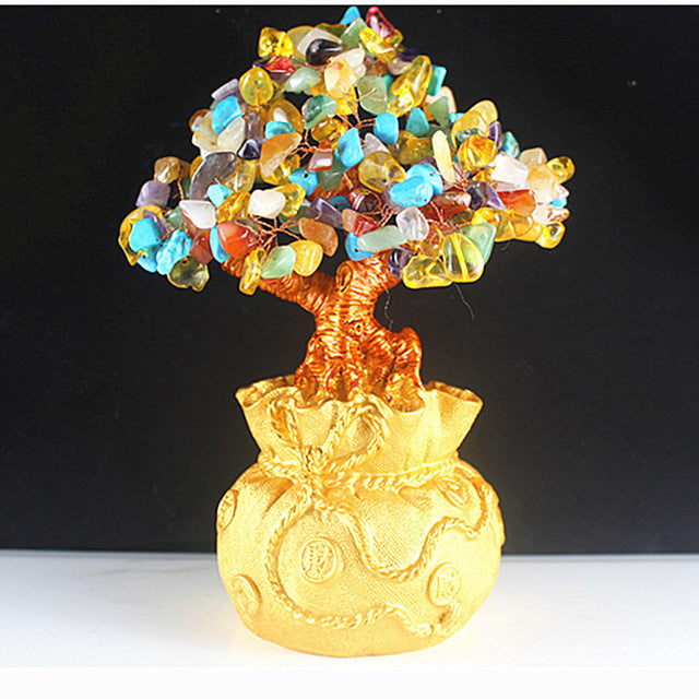 Crystal Lucky Tree