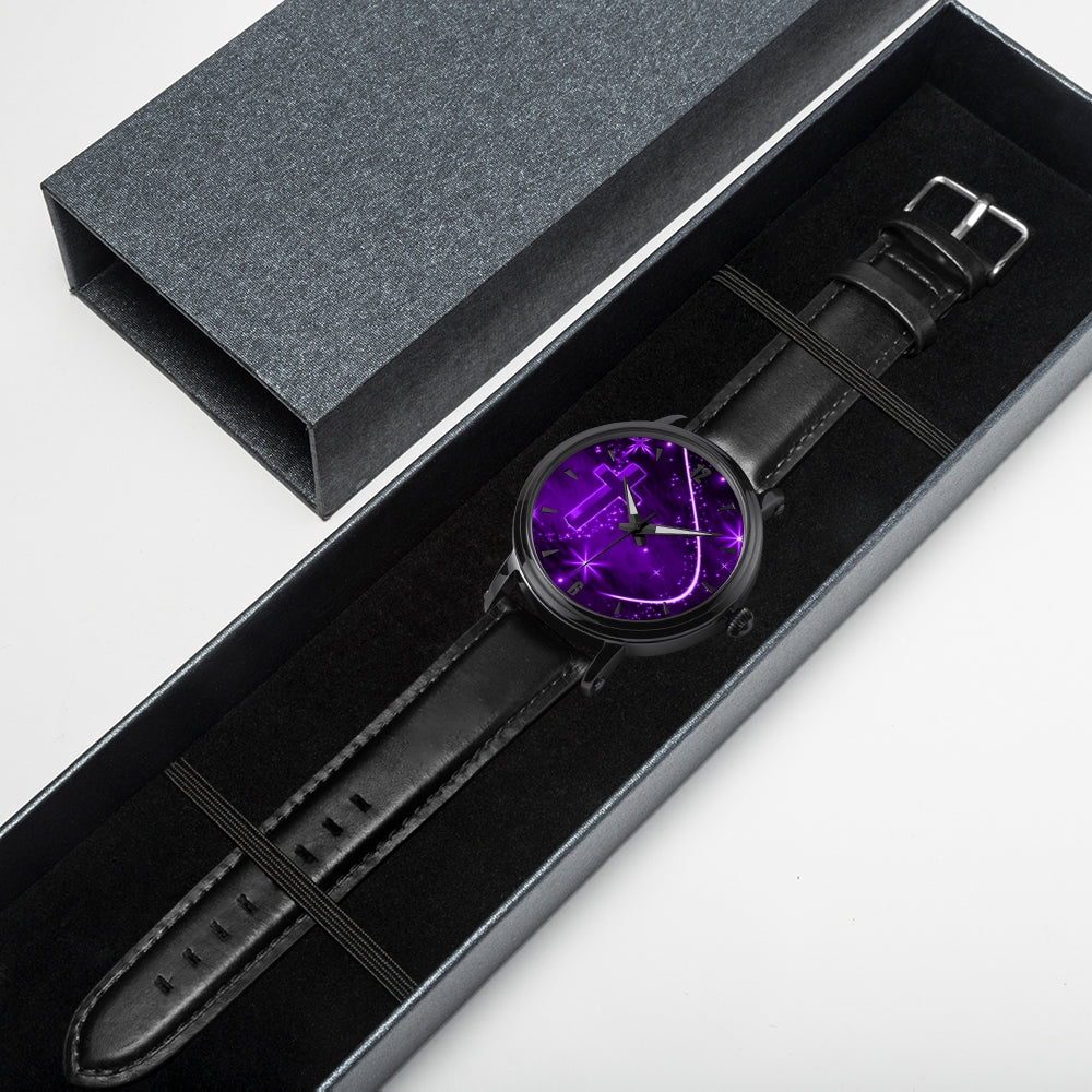 purple cross watch - Watch Couture