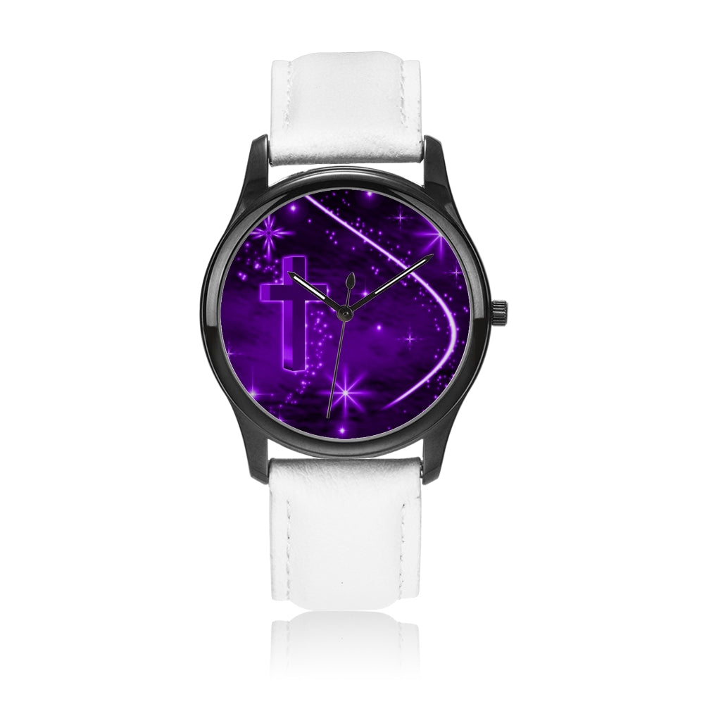 purple cross - Watch Couture