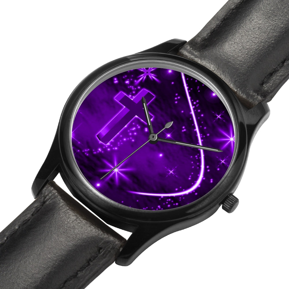 black purple watch - Watch Couture
