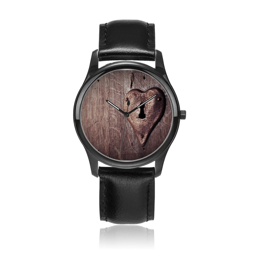 wooden heart - Watch Couture