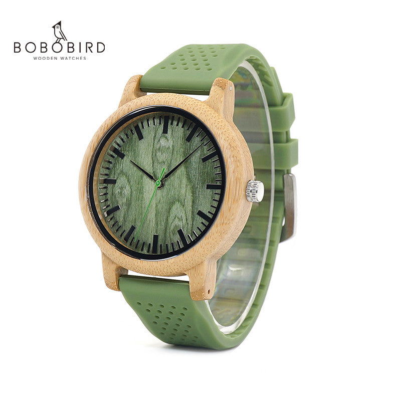 BOBO BIRD Fashion Bamboo Wood Watch - Watch Couture