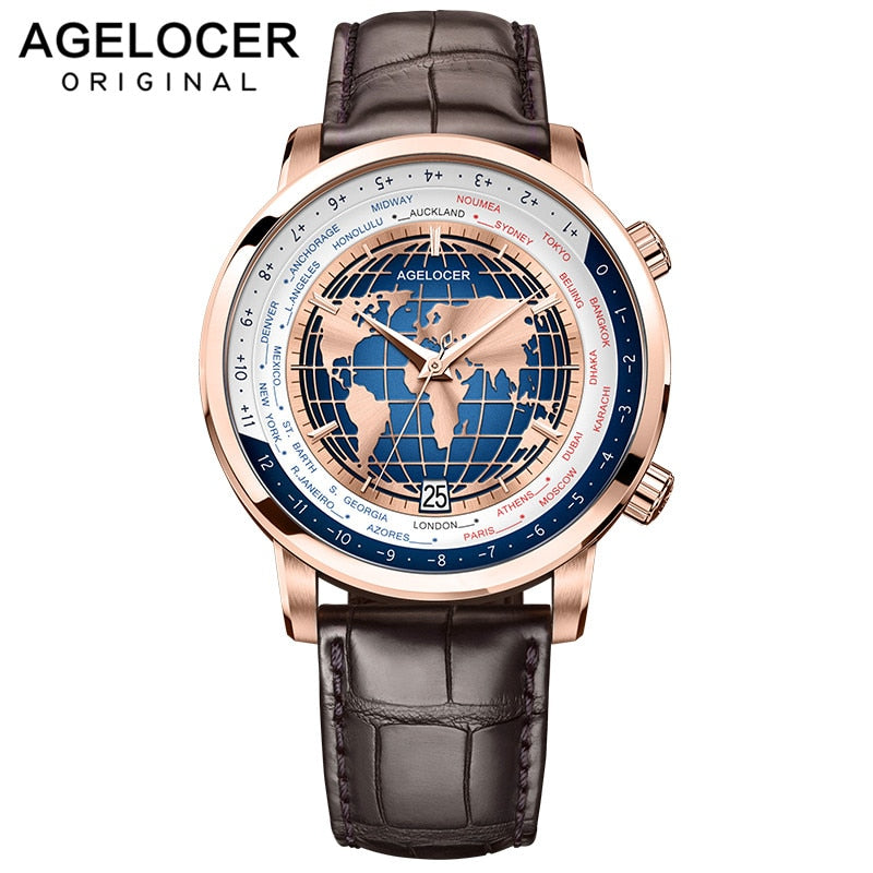 AGELOCER Men Watch Swiss Luxury - Watch Couture