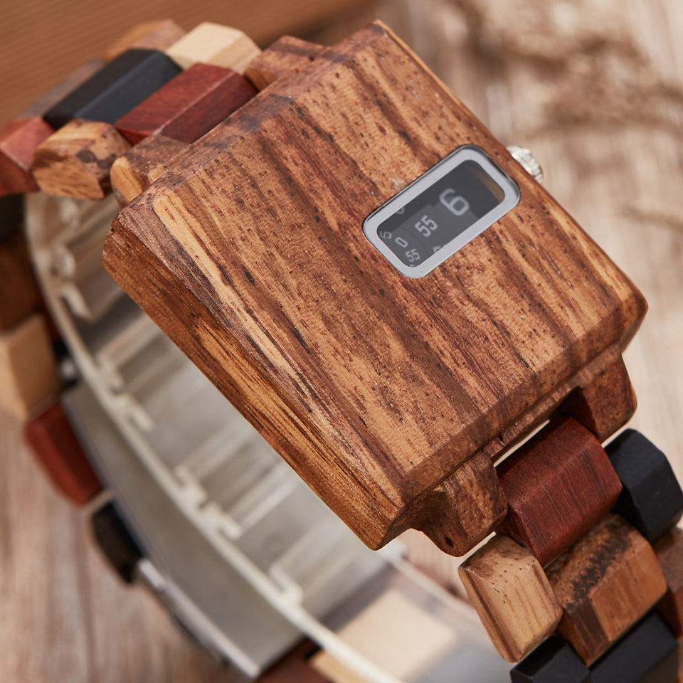 Unique Solid Wood Watch - Watch Couture