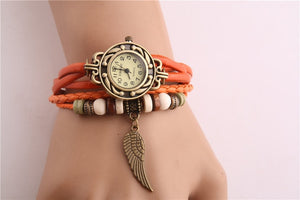 Vintage Women Watches Imitation Leather - Watch Couture