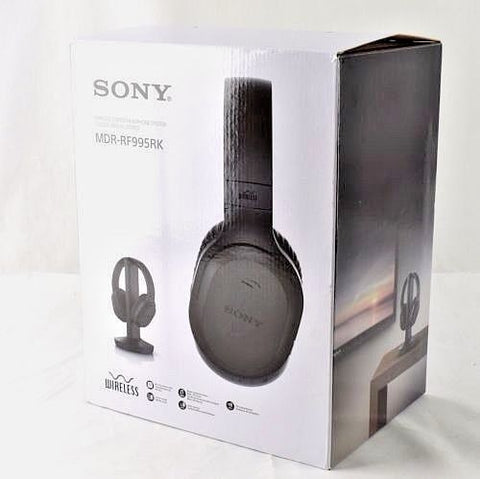 Sony Wireless On-Ear Headphones - Black