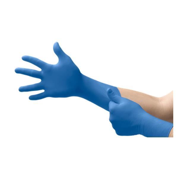 Microflex SafeGrip Latex PF Gloves w/Extended Cuff, 50/bx