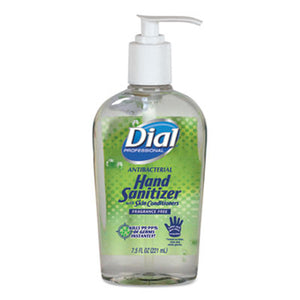 Hand Sanitizer w/Moisturizer, 7.5 oz Pump, Dial, 12/case
