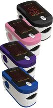 Load image into Gallery viewer, Pulse Oximeter available in four colors