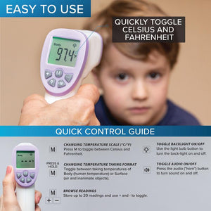 Digital Infrared Forehead No-Touch Thermometer