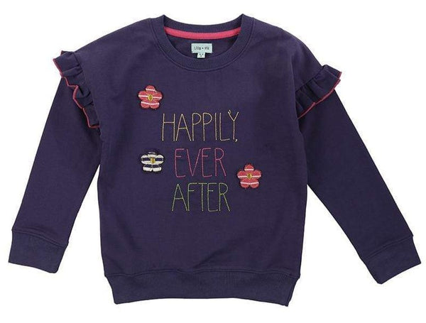 Lilly & Sid Sweatshirts Happily Ever After Sweatshirt organic childrens clothes