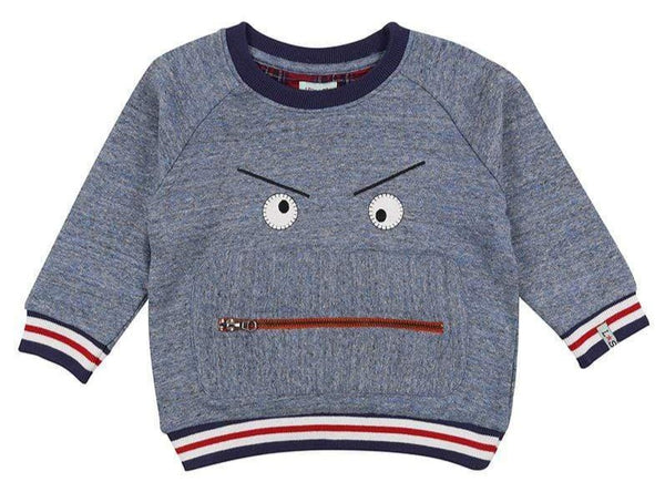 Lilly & Sid Sweatshirts Zippy Monster Sweat organic childrens clothes