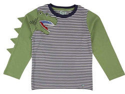 Lilly & Sid T-Shirts Dino Sleeve Top organic childrens clothes