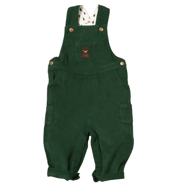Little Green Radicals Dungarees Nordic Bear Classic Dungarees organic childrens clothes