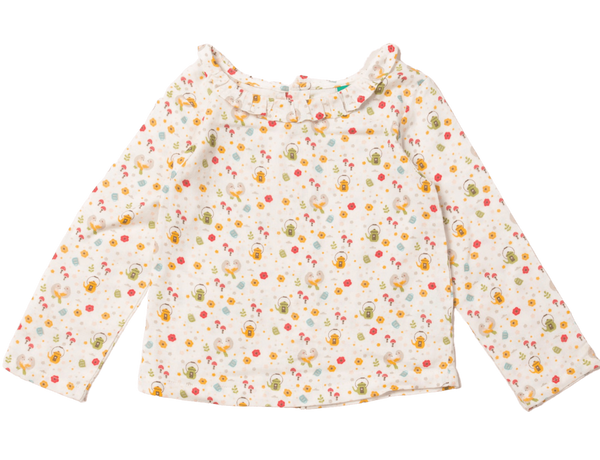Little Green Radicals T-Shirts Time For Tea Classic Blouse organic childrens clothes