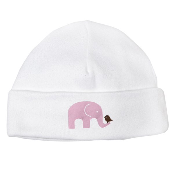 Molly & Monty Beanies & Hats All Pink Elephant Beanie organic childrens clothes