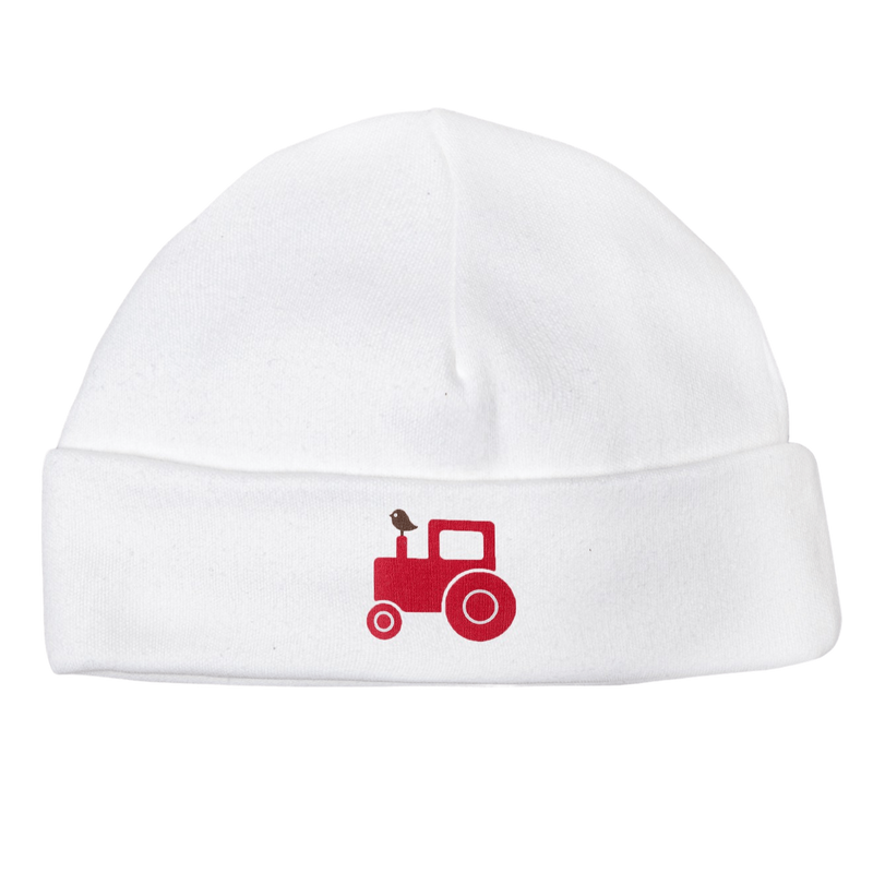 Molly & Monty Beanies & Hats All Red Tractor Beanie organic childrens clothes