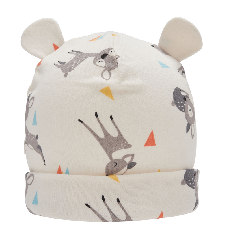 The Bonnie Mob Beanies & Hats Catkin - Baby Beanie Hat With Ears - Deer organic childrens clothes