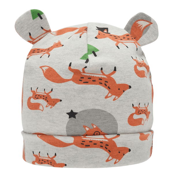 The Bonnie Mob Beanies & Hats Catkin - Baby Beanie Hat With Ears - Fox organic childrens clothes