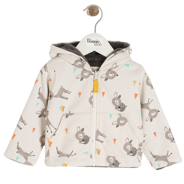 The Bonnie Mob Hoodies Deer - Hoodie - Deer organic childrens clothes