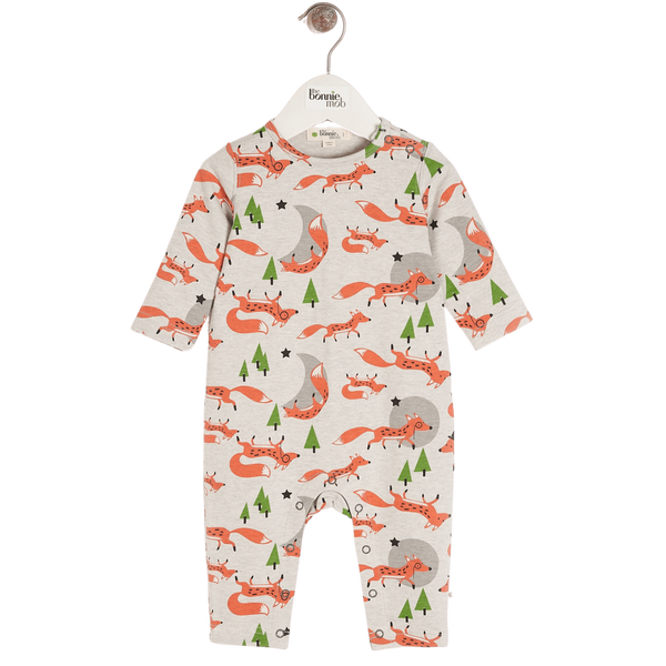 The Bonnie Mob Playsuits Cedar - Playsuit - Fox organic childrens clothes