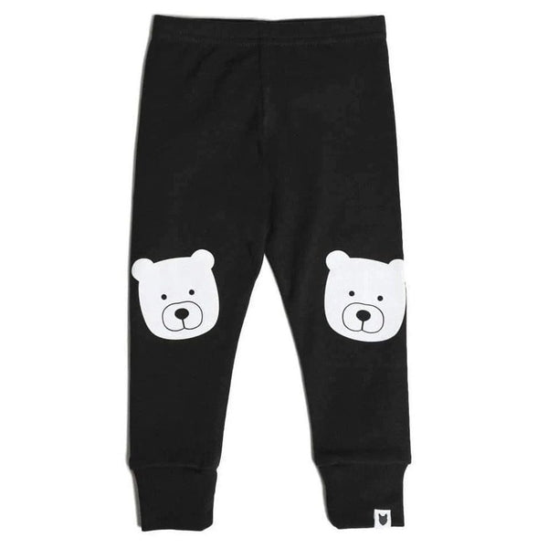 Tobias & the Bear Leggings Bear Portrait Leggings organic childrens clothes