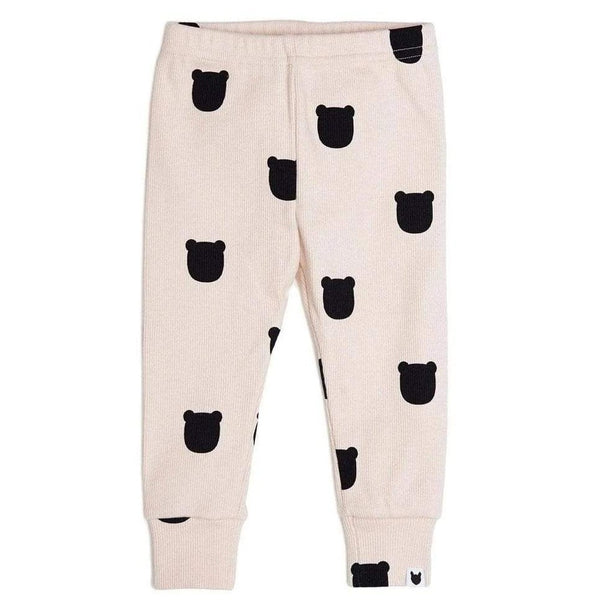 Tobias & the Bear Leggings Blush Bear Leggings organic childrens clothes