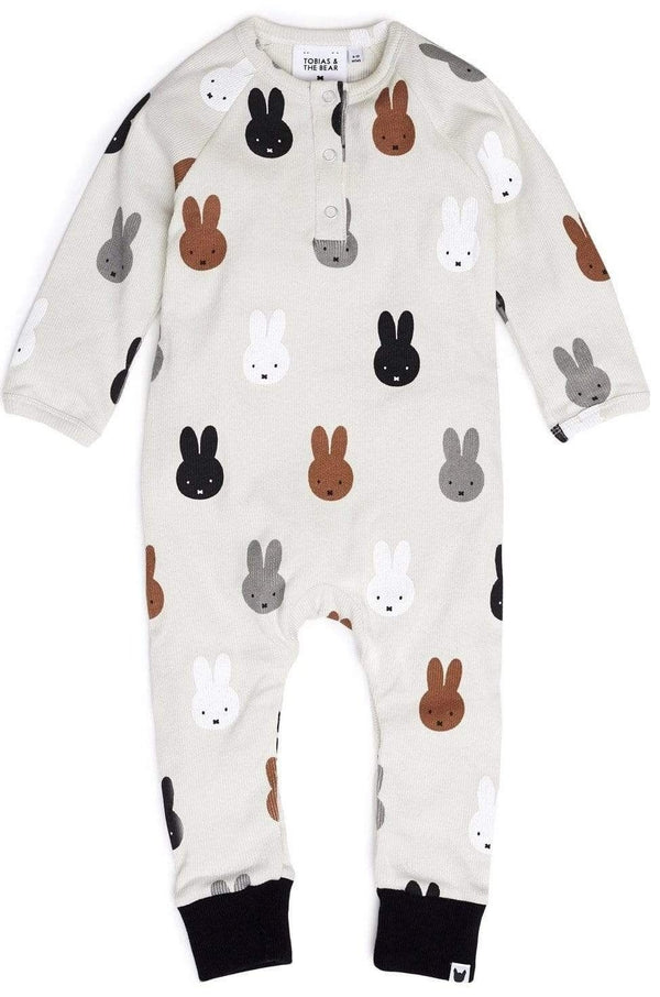 Tobias & the Bear Playsuits Miffy & Friends Romper organic childrens clothes