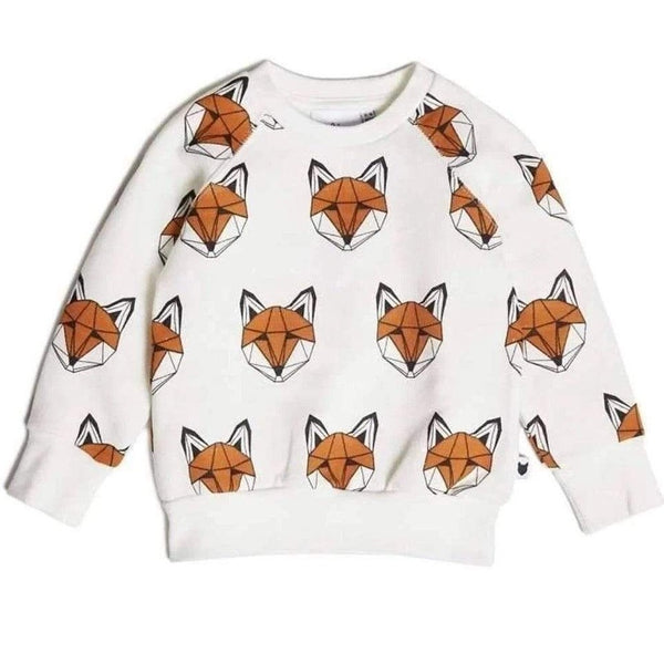 Tobias & the Bear Sweatshirts Just Call Me Fox Loopback Sweatshirt organic childrens clothes