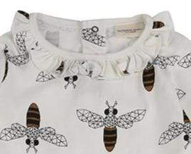 Turtledove London Dresses Honey Bee Dress organic childrens clothes