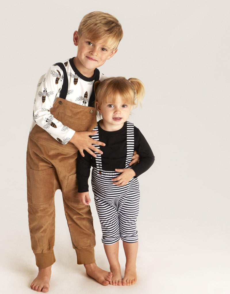 Turtledove London Dungarees Elastic Strap Dungaree organic childrens clothes