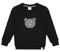 Turtledove London Sweatshirts Applique Bear Sweat organic childrens clothes