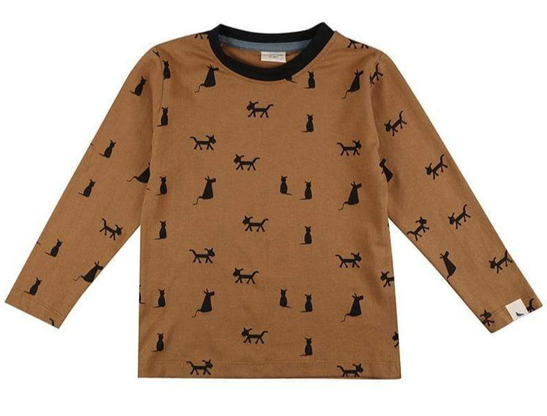 Turtledove London T-Shirts Cats + Dogs Top organic childrens clothes