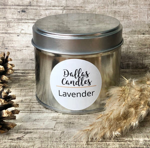 Lavender candle | soy wax | Dallas Candles