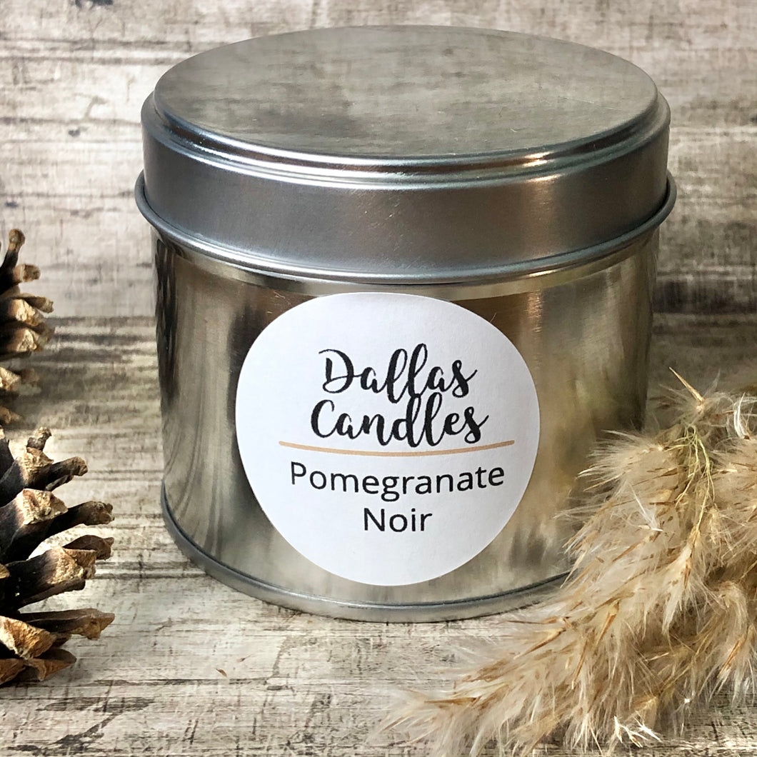 soy wax candle | pomegranate | Dallas Candles