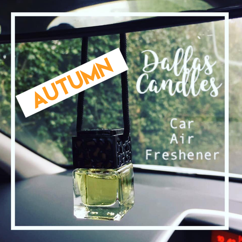 Autumn Halloween car air fresheners | Dallas Candles