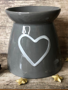 Wax Burner - Grey - Large