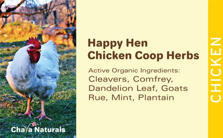 Happy Hen - Chicken Coop Herbs