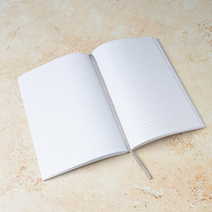 A5 Grey 'Notes' Notebook