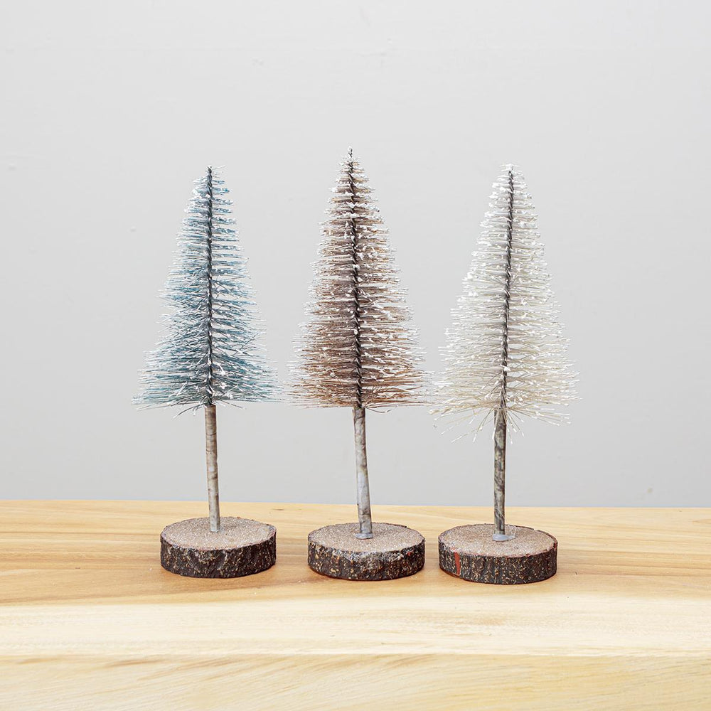 Wire Pinetree Small - White