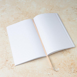 A5 Tan 'Notes' Notebook