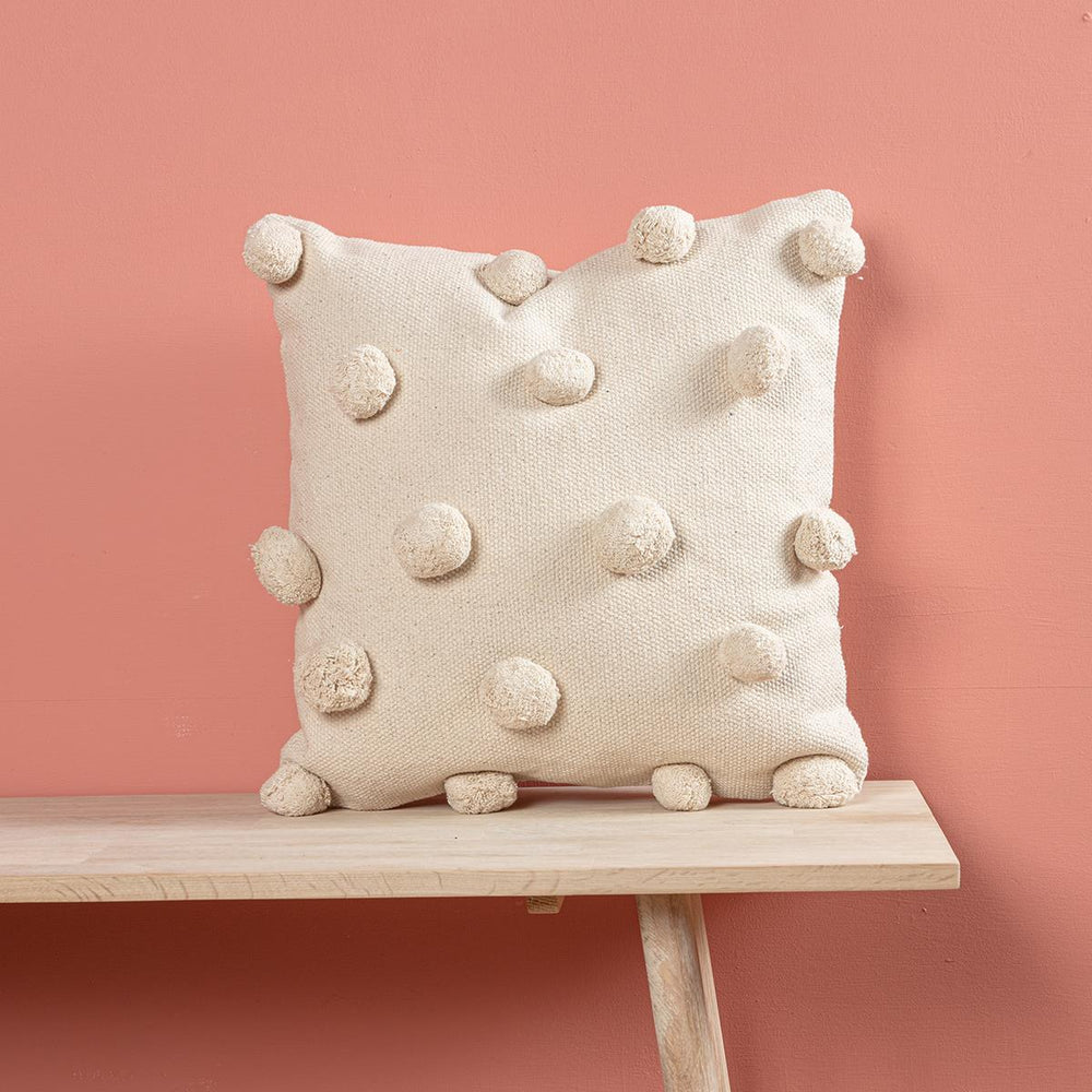 Lorient Square Cushion - Off White